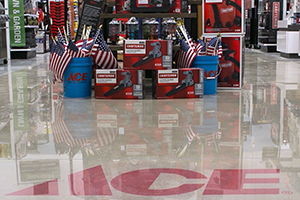 QuestMark puts a shine on ACE Hardware's concrete floor