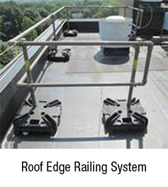 Roof Edge Railing System