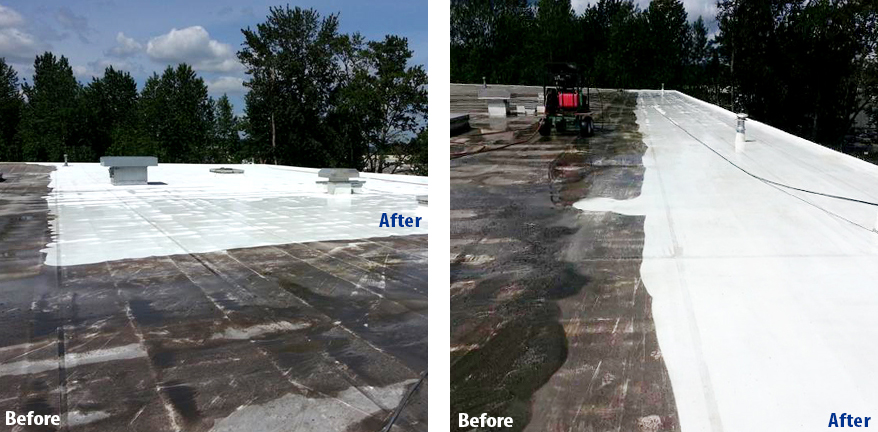 Cleaning Your Roof Can Result In Many Benefits: RoofCleaningBeforeAfter3