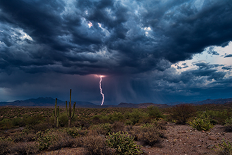 Monsoon Season in Arizona