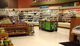 Polished Terrazzo Flooring in Grocery Store