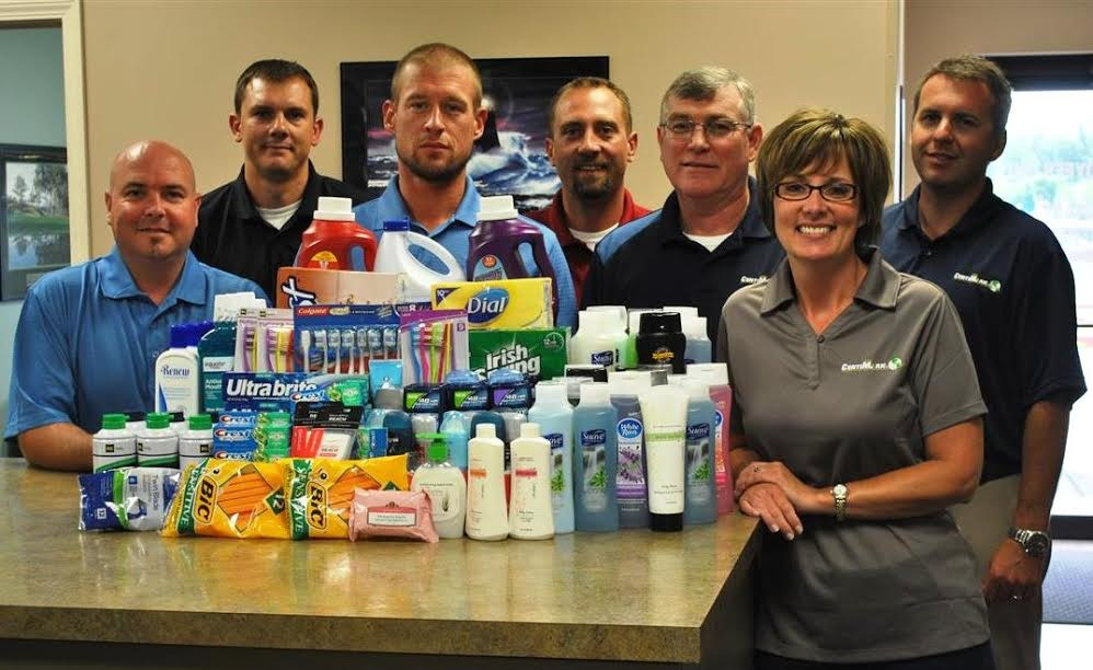 CentiMark People: Food Bank Donations