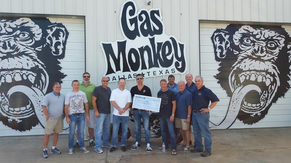 CentiMark Executives Visit Gas Monkey Garage