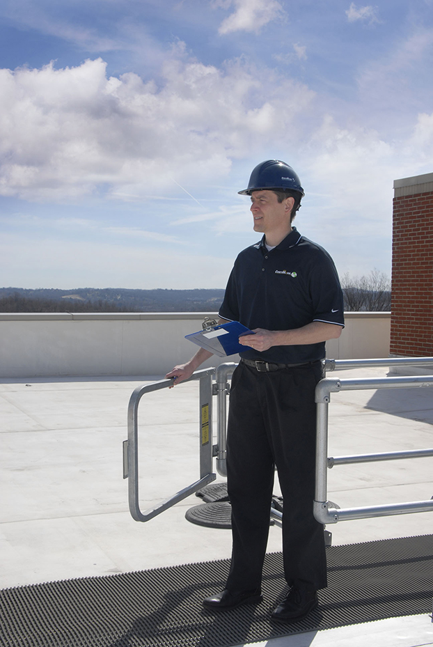 mikeinspectingroof