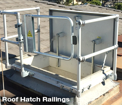 Roof Hatch Railings2