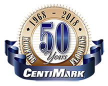CentiMark Celebrating 50 Years in Business Logo