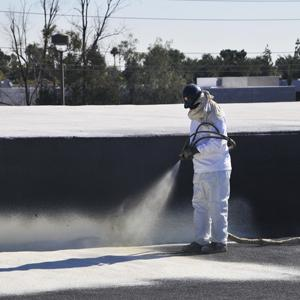 Spf Roofing Spray Polyurethane Foam Roofing Systems