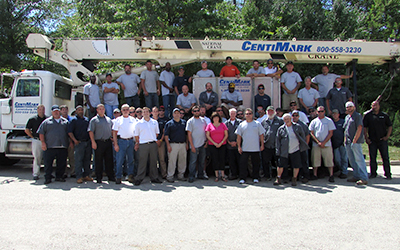 CentiMark's team of commercial roofing contractors serving Pittsburgh