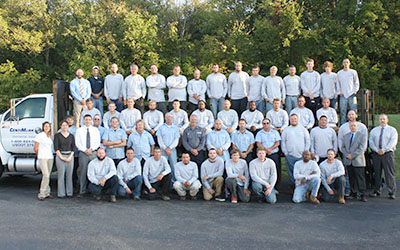 CentiMark's commercial roofing team serving Cleveland, OH
