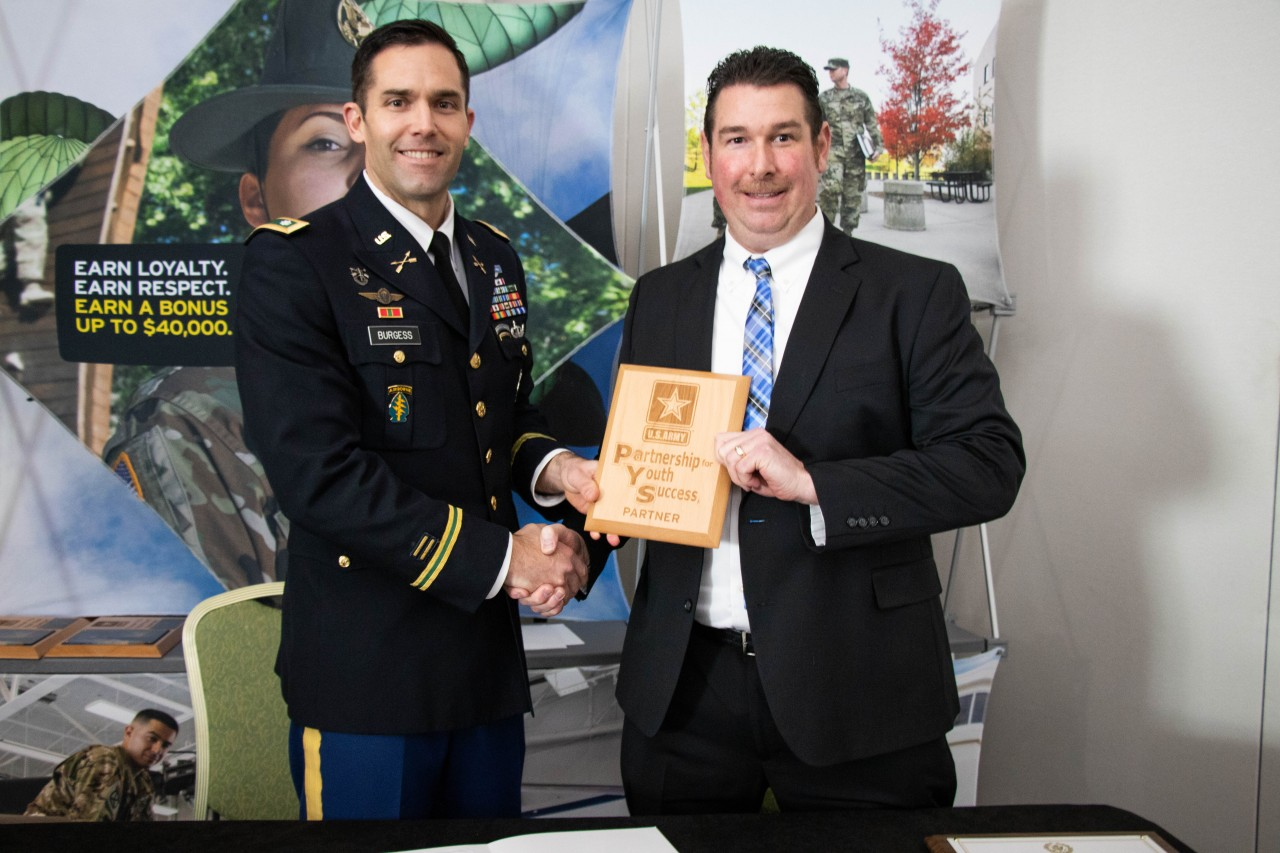 CentiMark and U.S. Army Partnership for Youth Success (PaYS) Program