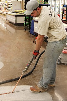January 2014 E-News - Saving Money with Joint Fill on Your Floors