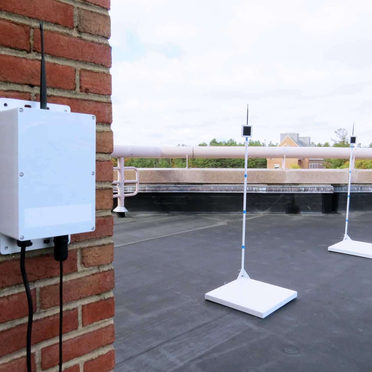 Rooftop Snow Monitoring and Removal